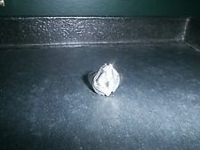 STERLING SILVER RING HORSE HEAD RING ENGLISH WESTERN