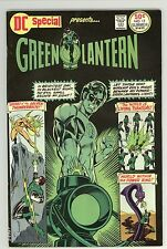 GREEN LANTERN DC SPECIAL 17 7.0 NICE GLOSSY RUSTED STAPLES  CBC 1975