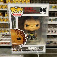 "Funko Pop Movies : Scary Stories : Harold #846 Vinyl Figure ""MINT"""