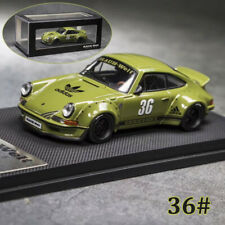 Model Collect 1:64 Porsche 911 930 Turbo RWB Ducktail Wing Diecast Car Model