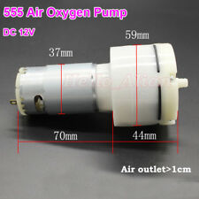 DC 6V 12V Large Flow 555 Air Oxygen Vacuum Pump Negative Pressure Pump Aquarium