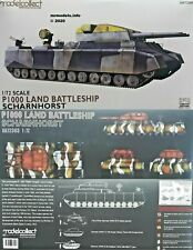 Modelcollect 1/72 P1000 Land Battleship Scharnhorst Plastic Model Kit UA72303