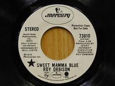 Roy Orbison r&r 45 Sweet Mama Blue bw Heartache Mercury