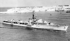 ROYAL NAVY C CLASS DESTROYER HMS CHIEFTAIN AT MALTA c 1946