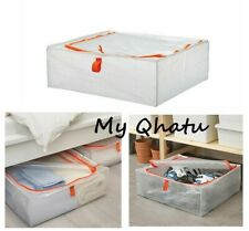 Ikea Parkla Storage Case Bag Bin Stackable Zippered Under Bed Dust Storage Bag