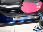 Stainless Steel Door Sill Entry Guard Covers fit Fiat Qubo Fiorino 2008-
