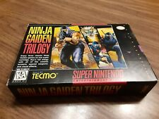 Ninja Gaiden Trilogy (SNES) Super Nintendo *BOX AND MANUAL ONLY*