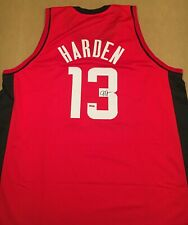 James Harden Houston Rockets Autographed Signed Jersey COA