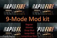 9-Mode, Rapid Fire Stealth Mod Kit for Xbox One Controller, Buy 3 get 1 free