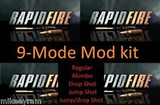9-Mode, Rapid Fire Stealth Mod Kit for Xbox One Controller -  Models 1537 1697