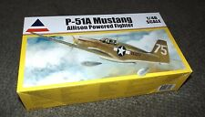 Accurate Miniatures 1/48  NA P-51A - Allison Powered Mustang-  New in open box.