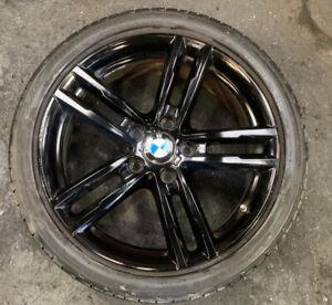 BMW 1 2 SERIES F20 F21 SHADOW M SPORT 18 INCH REAR ALLOY WHEEL 8074186 8009703