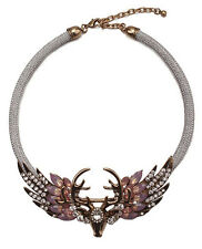 MARNI H&M Deer Head Necklace