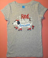 Children's Short-Sleeve 100% cotton Tee-Shirt w/Cute Dachshund Design Size Large