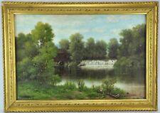 "John Alexander Harrison Noble (1913 - 1983) ""Waterfall and Mill""  (BI#MK/171119)"