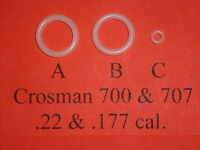 Crosman 700 & 707 Rifle Complete URETHANE O-Ring Seal Kit Exploded View W/ Guide