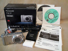 Panasonic Lumix DMC-TZ7 Silver 10.1MP Compact Digital Camera, Boxed & Complete