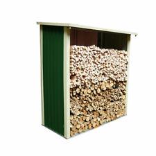 Legnaia in acciaio zincato da giardino porta legna per esterni
