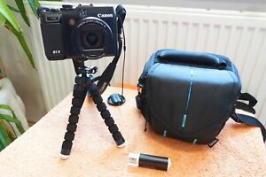 Canon PowerShot G1x l 1A WARE XXL EXTRAS I FullHD Video 3Zoll Schwenk LCD HDMI