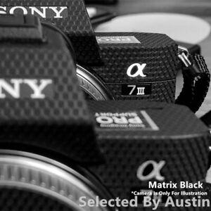 Funda cámara de goma de silicona para Sony A7 A7R A7S A7II A7RII A7SII A7M3 A7R3
