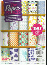 THE PAPER STACK MAGAZINE UK VOL.1, LUXURY PAPERS TO USE FOR PAPERCRAFTING,SCRAP