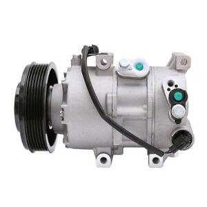 1x A/C Compressor CO 20765C 977011R100 For 2012-2017 Hyundai Accent Kia Rio 1.6L