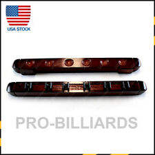 Wooden Billiard Pool Cue Rack Hold 6 Cue Sticks Wall Mounted Free Post US Stock