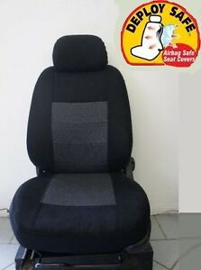 Tailor Made Black Seat Covers for Ssangyong Korando from 02/2011 - ON