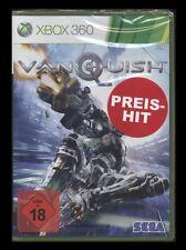 XBOX 360 VANQUISH - USK 18 - in DEUTSCH UNCUT - Top-ACTION-SHOOTER von SEGA *NEU