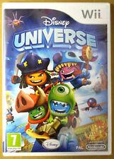 Videogame Disney Universe Nintendo Wii Edizione Italiana nuovo sigillato SEALED