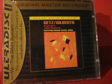 "MFSL-UDCD 607 STAN GETZ/JOAO GILBERTO""GETZ/GILBERTO""(GOLD-CD/USA/FACTORY SEALED)"