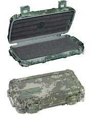 Cigar Caddy 5 Stick Travel Humidor with Free Cutter, Solution Forest Camouflage