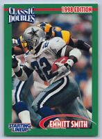 1998  EMMITT SMITH Starting Lineup CLASSIC DOUBLES Football Card - COWBOYS (A)
