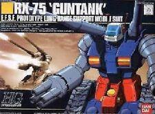 Bandai Gundam HGUC 007 1/144 RX-75 Gun Tank Model Kit