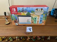 Nintendo Switch Console 32GB Animal Crossing New Horizons Edition FREE SHIPPING