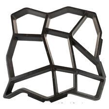 Stampo cemento matrice Forma pavimento vialetto giardino fai da te pietra 44x44