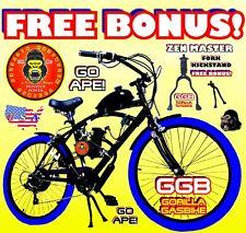 "48cc/49cc/50cc/66cc/80cc 2-stroke Motorized Bike Kit With 26"" Cruiser Bike"