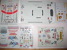 6 decals Set 1/43 Racing, DTM örm Macao BMW FERRARI Schnitzer Quester Cecotto