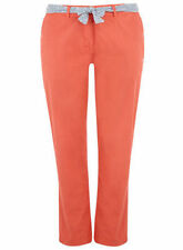 Cotton Other Casual Plus Size 30L Trousers for Women