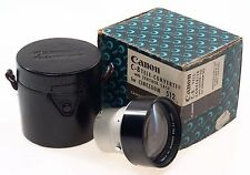 CANON C8 TELE-CONVERTER LEATHER CASE BOX CINEZOOM 512