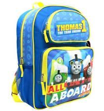 "Mini Backpack - Thomas The Tank Engine - All a Board Blue 10"" School Bag Tecf02"