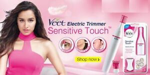 Veet Sensitive Touch Electric Trimmer for Women (Free Shipping)