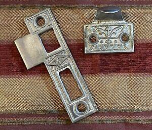 Nickle Plated Sash Lift Doorknob Keeper