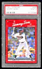 1990 Donruss Sammy Sosa Chicago White Sox #489 PSA MINT 9