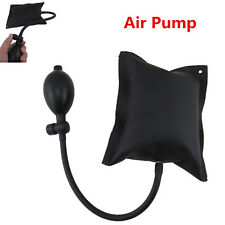 Black Wedge Airbag Cushioned Inflatable Shim Powerful Hand Pump Tool Door Opener