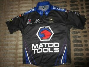 Antron Brown NHRA Matco Tools Top Fuel Dragster Racing Jersey Adult SM Small