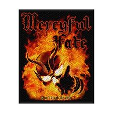 "MERCYFUL FATE - ""DON'T BREAK THE OATH"" WOVEN SEW ON PATCH"