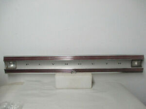 Mopar USED 1967 Plymouth Satellite Deck Lid Finish Panel 2839495U