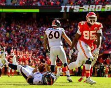 CHRIS JONES 8X10 PHOTO KANSAS CITY CHIEFS KC PICTURE NFL VS BRONCOS