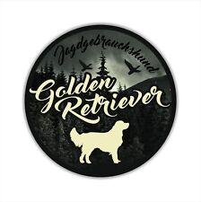 A_JGH Auto Aufkleber GOLDEN RETRIEVER Jagdhund Hundeaufkleber Hunde SIVIWONDER
